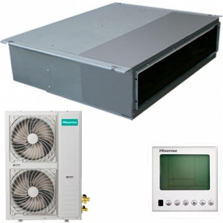 Кондиционер канальная сплит-система Hisense AUD-60HX4SHH / AUW-60H6SP1 (зимний комплект)