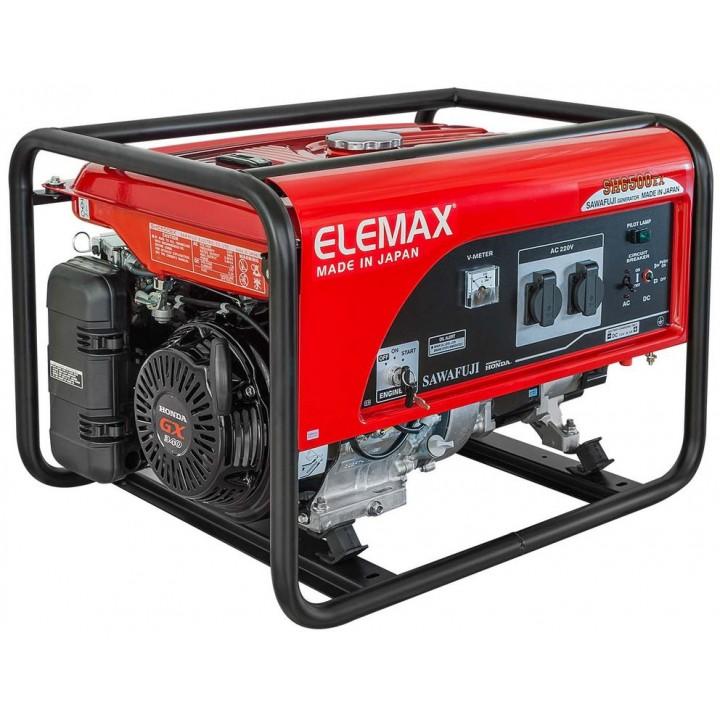 Генератор бензиновый Elemax SH6500EX-R