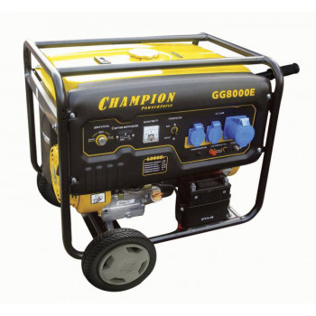 Генератор бензиновый Champion GG8000E