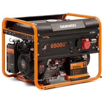 Генератор бензиновый Daewoo GDA 7500-3