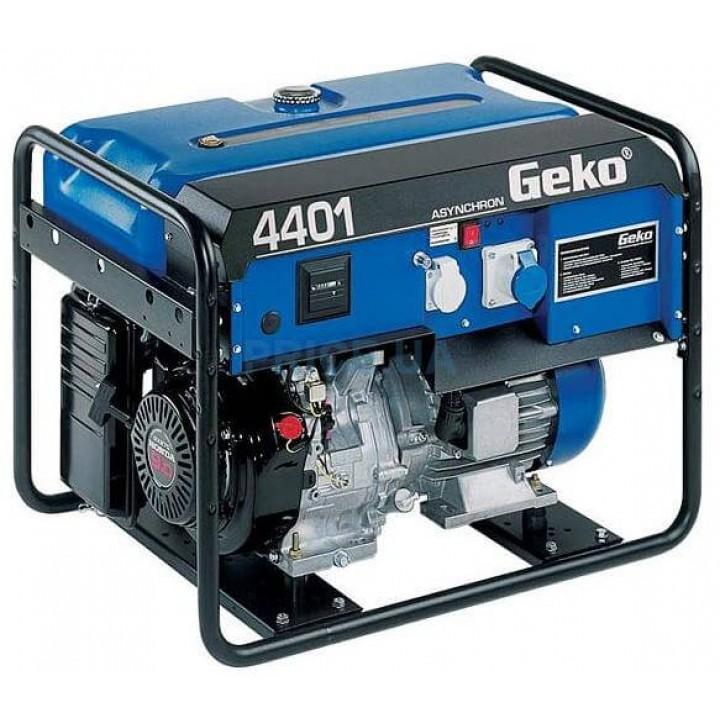 Генератор бензиновый Geko 4401E-AA/HHBA