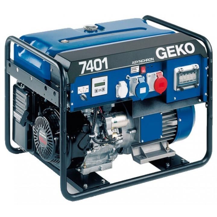 Генератор бензиновый Geko 7401ED-AA/HEBA +BLC