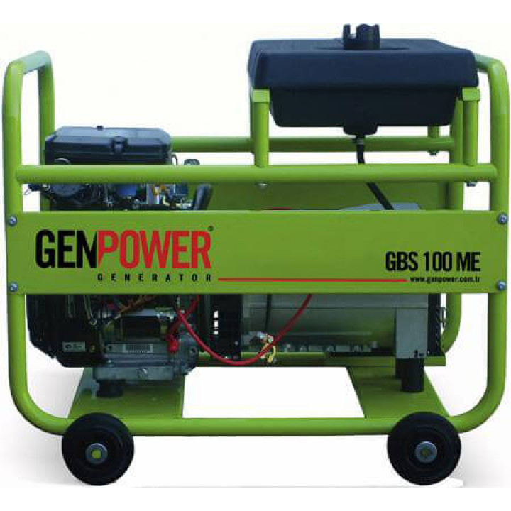 Генератор бензиновый Genpower GBS 100ME