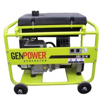 Генератор бензиновый Genpower GBS 70ME