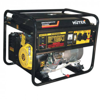 Генератор газовый-бензиновый Huter DY6500L