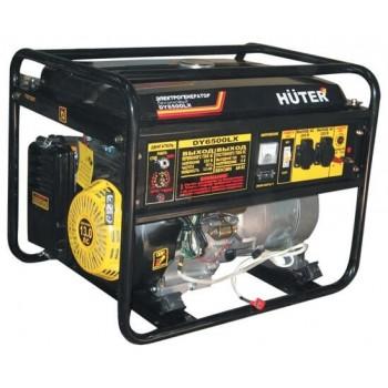 Генератор газобензиновый Huter DY6500LX с пультом