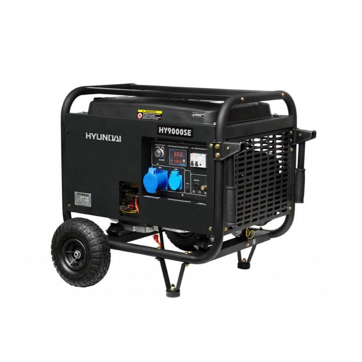 Генератор бензиновый Hyundai HY 9000SE