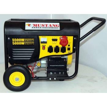 Генератор бензиновый Mustang CPG6000E2T