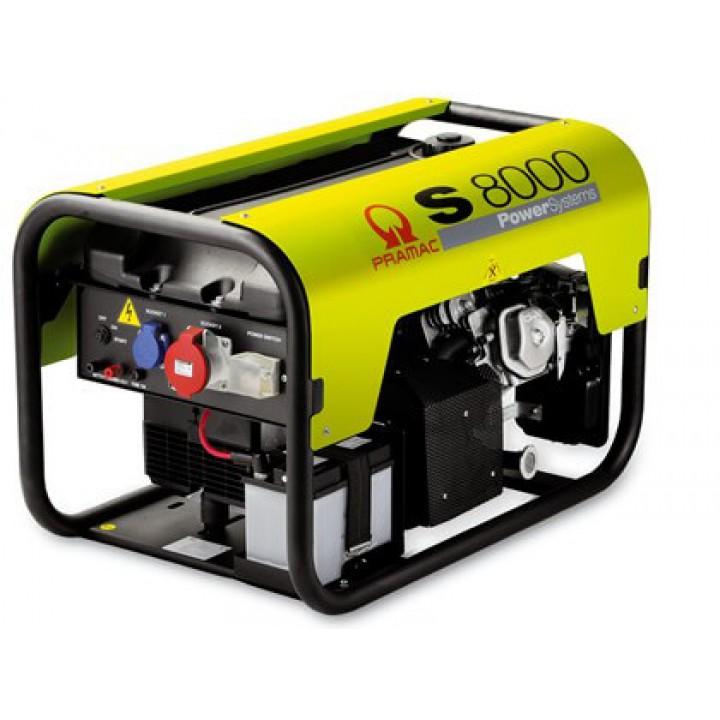 Генератор бензиновый Pramac S8000a