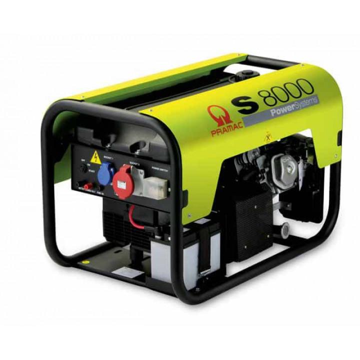 Генератор бензиновый Pramac S8000t