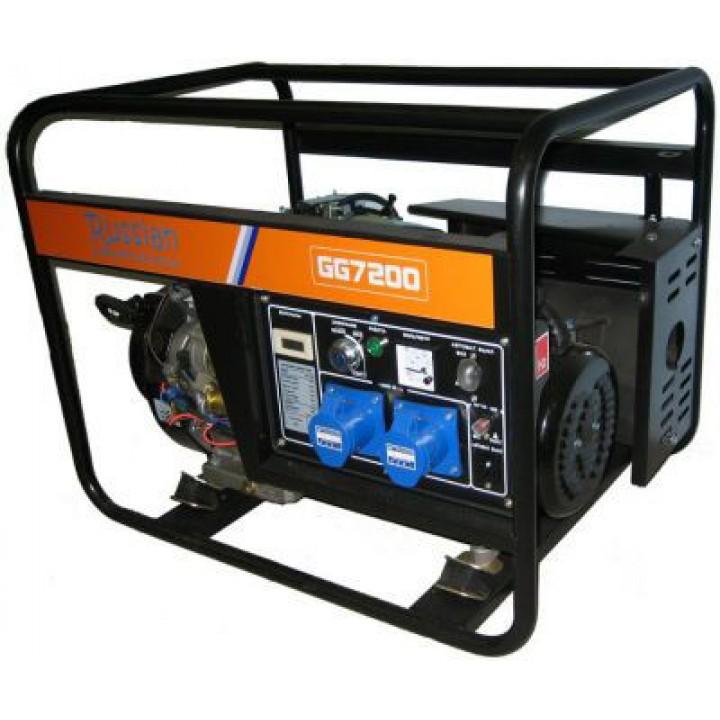 Генератор бензиновый REG GG7200-380