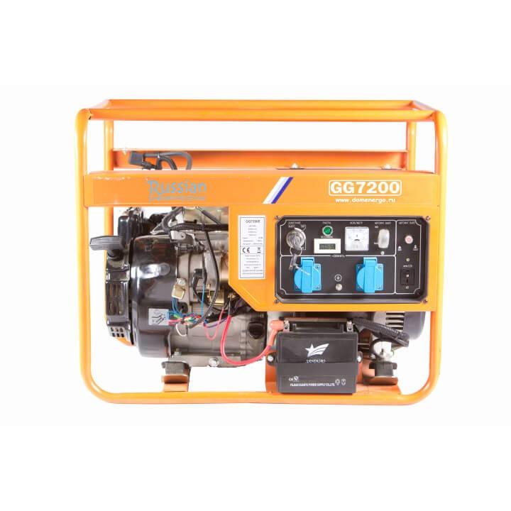 Генератор бензиновый REG GG7200Plus