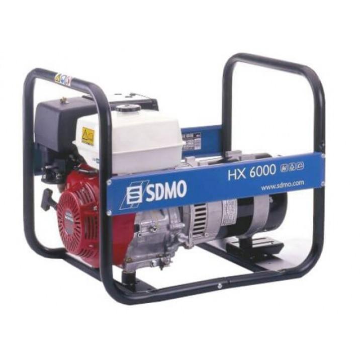 Генератор бензиновый SDMO HX 6000