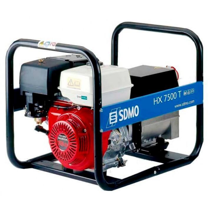 Генератор бензиновый SDMO HX 7500T