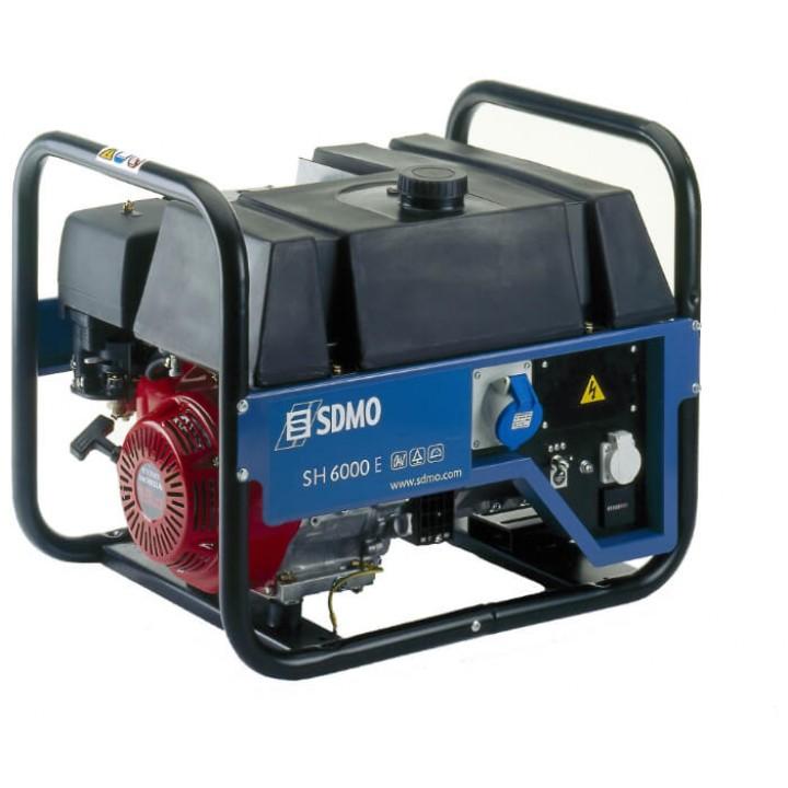 Генератор бензиновый SDMO SH 6000E
