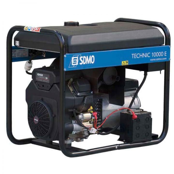 Генератор бензиновый SDMO Technic 10000E