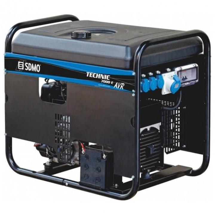 Генератор бензиновый SDMO Technic 7000E