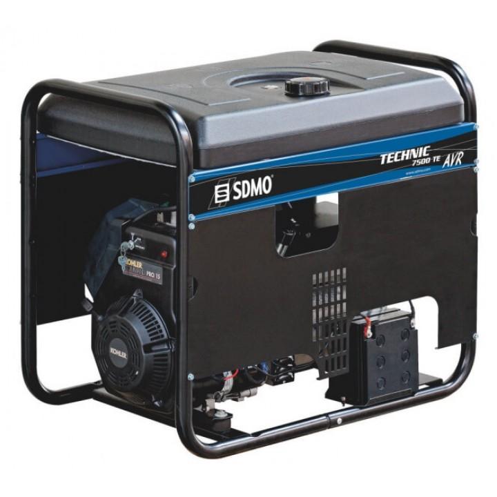 Генератор бензиновый SDMO Technic 7500TE