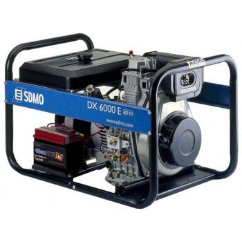Генератор дизельный SDMO DX 6000 E