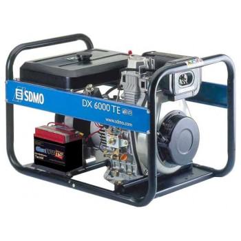 Генератор дизельный SDMO DX 6000 TE