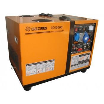 Генератор газовый GazLux CC5000D