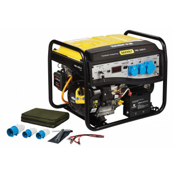 Генератор газовый Gazvolt Pro 6250 A 08