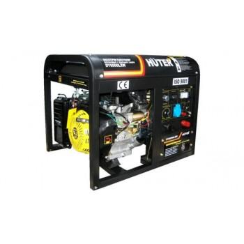 Генератор бензиновый сварочный Huter DY6500LXW